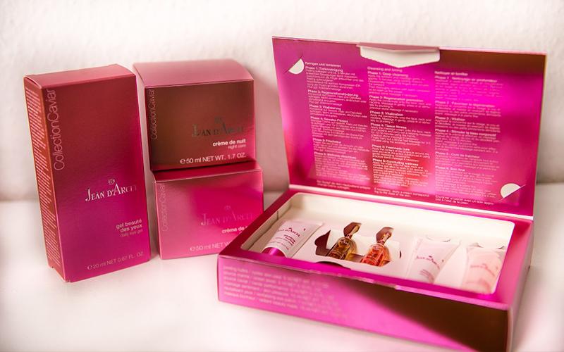 Für unsere professionellen Behandlungen verwenden wir nur hochwertige Beauty- und Naturprodukte Firma Jean d'Arcel